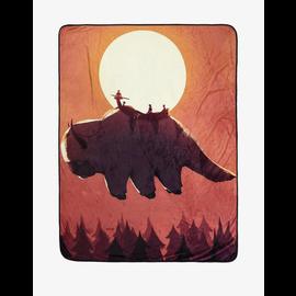 Her Universe Blanket - Avatar The Last Airbender - Air Sky Bison Fleece Throw