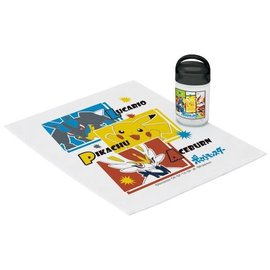 Skater Hand Towel - Pokémon Pocket Monsters - Lucario, Pikachu and Cinderace/Aceburn with Case