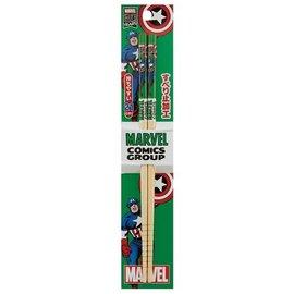 Skater Baguettes - Marvel - Captain America Classique 1 Paire 21cm