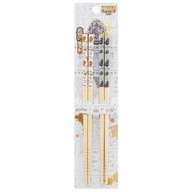 Skater Chopsticks - Harry Potter - Hedwig and Hagwarts Express Set of 2 Pairs 21cm
