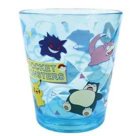 Tsujiseru Verre - Pokémon Pocket Monsters - Première Génération Bleu Tumbler en Acrylique Transparent 8oz