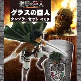 Kodansha Glass - Attack on Titan: Shingeki no Kyojin - Mikasa Ackerman Acrylic Tumbler 24oz