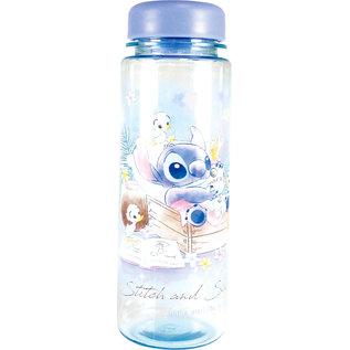 T's Factory Bouteille de Voyage - Disney Lilo & Stitch - Sitch et Scrump Bleue en Acrylique 500ml