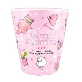 "ShoPro Glass - Pokémon Pocket Monsters - ""Team Pink"" Acrylic Tumbler 8oz"