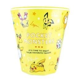 """ShoPro Verre - Pokémon Pocket Monsters - """"Team Jaune"""" Tumbler en Acrylique 8oz"""