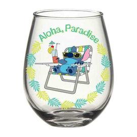 Silver Buffalo Glass - Disney Lilo & Stitch - Aloha Paradise 20oz