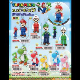 Nintendo Porte-Clés - Nintendo Super Mario Bros. - Mini Figurine Articulée Swing