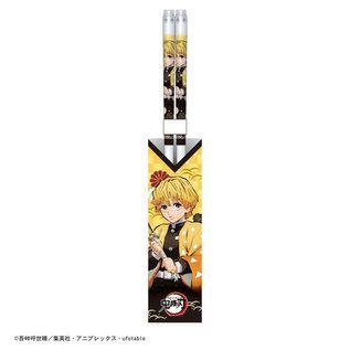 Aniplex Baguettes - Demon Slayer: Kimetsu no Yaiba - Zenitsu Agatsuma en Acrylique 1 Paire 21cm
