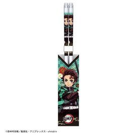 Aniplex Baguettes - Demon Slayer: Kimetsu no Yaiba - Tanjiro Kamado en Acrylique 1 Paire 21cm