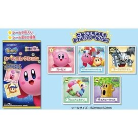 Ensky Studio Blind Bag - Kirby of the Stars - Stickers Collection Pack of 5