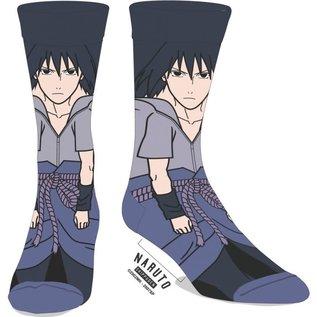 Bioworld Chaussettes - Naruto Shippuden - Sasuke Uchiha 1 Paire Crew
