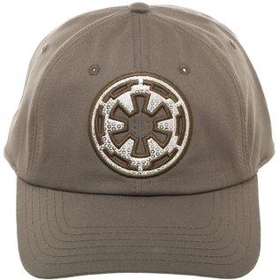 Bioworld Casquette - Star Wars - Logo de l'Empire Brodé Khaki Ajustable
