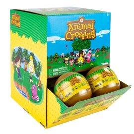 Takara Tomy Boule mystère - Nintendo Animal Crossing - Porte-Clés Mini Figurine Capsule Dorée