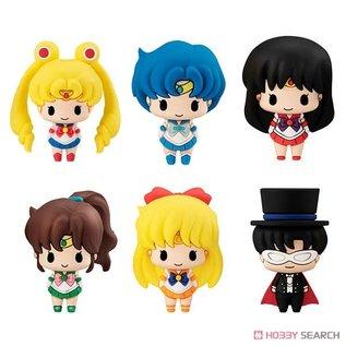 Toei Boite Mystère - Sailor Moon - Mini Figurine Chokorin Mascot Pretty Guardian en Caoutchouc