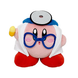 "San-Ei Peluche - Nintendo Kirby - Docteur Kirby All Star Collection 5"""