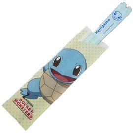 ShoPro Baguettes - Pokémon Pocket Monsters - Squirtle/Zenigame Bleues Transparentes 1 Paire 18 cm
