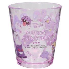 "ShoPro Glass - Pokémon Pocket Monsters - ""Team Purple"" Clear Acrylic Tumbler 8oz"