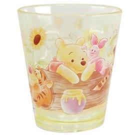 ShoPro Verre - Disney Winnie l'Ourson - Winnie, Porcinet, Tigrou et Petit Gourou Jaune Tumbler en Acrylique Transparent 8oz