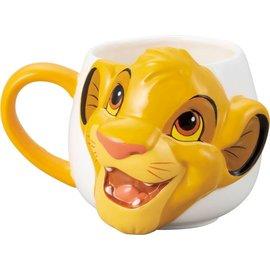 Sun Art  Seto Tasse - Disney Le Roi Lion - Simba en Relief 12oz