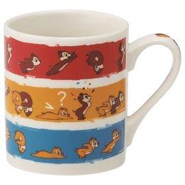 Skater Mug - Disney Chip 'n Dale's Rescue Rangers - Chip & Dale with Lines 8oz