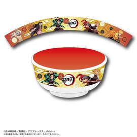 ShoPro Bowl - Demon Slayer: Kimetsu no Yaiba - Tanjiro, Nezuko, Zenitsu, Inosuke and Rengoku Red for Donburi in Melamine