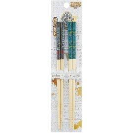 Skater Chopsticks - Harry Potter - Quidditch and Plateform 9 3/4 Set of 2 Pairs 21cm