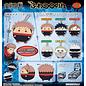 Ensky Studio Boîte mystère - Jujutsu Kaisen - Peluche Porte-clés Fuwakororin Character Collection 1