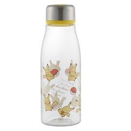 ShoPro Travel Bottle - Pokémon Pocket Monsters - Chibi Pikachu Electric Type and Poké Balls Clear Acrylic 500ml