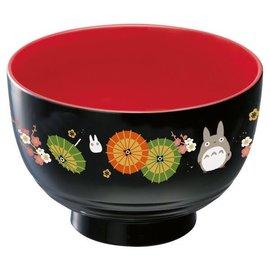 Skater Bowl - Studio Ghilbi My Neigbor Totoro - Totoro avec Umbrellas Black and Red for Soup