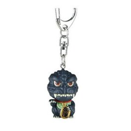 Toho Co ltd. Keychain - Godzilla - Godzilla Lucky Mini Figurine Bubblehead