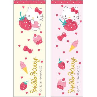Skater Baguettes - Sanrio Hello Kitty - Hello Kitty avec Fraises Ensemble de 2 Paires 21cm