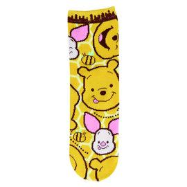 Js Planning Chaussettes - Disney Winnie L'Ourson - Winnie et Porcinet 1 Paire Courtes Chevilles