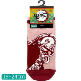 Aniplex Chaussettes - Demon Slayer: Kimetsu no Yaiba - Nezuko Kamado Roses 1 Paire Courtes Chevilles