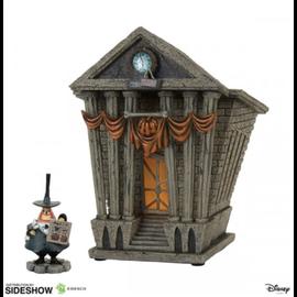 Enesco Figurine - Disney The Nightmare Before Christmas - Mairie de Halloween Town et Maire avec Lumière