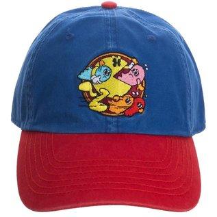 Bioworld Casquette - Namco Pac-Man - Logo Retro Bleue et Rouge