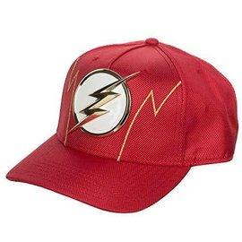 Bioworld Casquette - DC Comics The Flash - Logo en Métal Rouge Suit Up Balistique Snapback