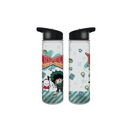 bioword Travel Bottle - My Hero Academia X Hello Kitty And Friends - Pochacco and Izuku Midoriya Deku 16oz