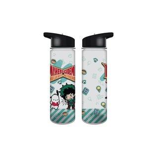 Bioworld Bouteille de voyage - My Hero Academia X Hello Kitty And Friends - Pochacco et Izuku Midoriya Deku 16oz