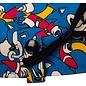 Bioworld Casquette - Sonic The Hedgehog - Collage de Sonic Classique avec Couvre-Visage