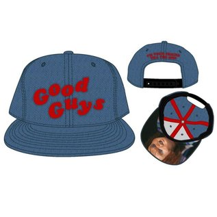 Bioworld Casquette - Child's Play - Good Guys Style Jeans Bleue Ajustable