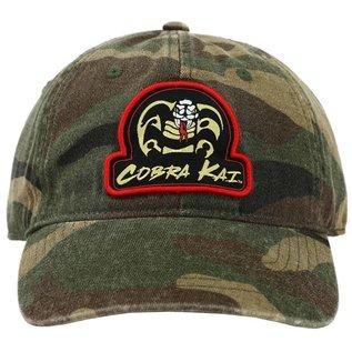 Bioworld Casquette - Cobra Kai - Patch du Logo Camouflage Ajustable