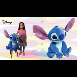 """Import Dragon Peluche - Disney Lilo et Stitch - Stitch Assis Géant 24"""""""