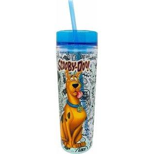Spoontiques Bouteille de Voyage - Scooby-Doo! - Onomatopées avec Paille 20oz