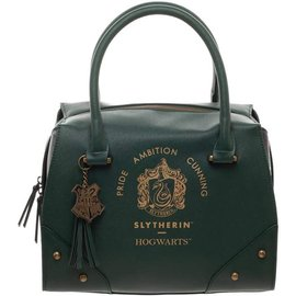 Bioworld Purse - Harry Potter - Slytherin Crest Pride Ambition Cunning Green Faux Leather