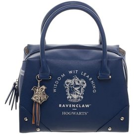 Bioworld Purse - Harry Potter - Ravenclaw Crest Wisdom Wit Learning Blue Faux Leather