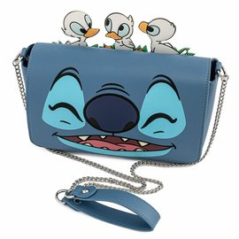 Loungefly Purse - Disney Lilo & Stitch - Story Time Duckies! Faux Leather