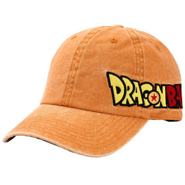Bioworld Casquette - Dragon Ball Z - Goku et Logo Brodé sur le Côté Orange Ajustable