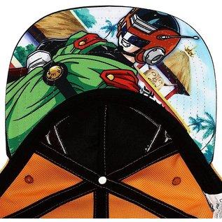 Bioworld Casquette - Dragon Ball Z - Great Saiyaman Orange Ballistique en Nylon Snapback