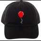 Bioworld Casquette - IT - Ballon Rouge Brodée Noire Ajustable