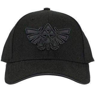 Bioworld Casquette - Nintendo The Legend of Zelda - Emblème d'Hyrule Brodée Noire Ajustable